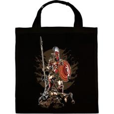 PRINTFASHION Sparta - Vászontáska - Fekete