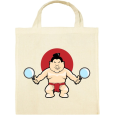 PRINTFASHION Sumo - Vászontáska - Natúr