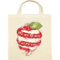 PRINTFASHION Szemem almája - Vászontáska - Natúr