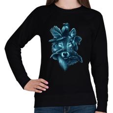 PRINTFASHION Szövetség - Női pulóver - Fekete