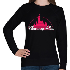 PRINTFASHION Szülinapos csaj - Női pulóver - Fekete női pulóver, kardigán