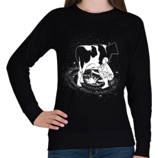 PRINTFASHION Tejút - Női pulóver - Fekete