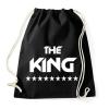 PRINTFASHION The King - Sportzsák, Tornazsák - Fekete