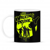 PRINTFASHION The Walking Drunk - Bögre - Fekete
