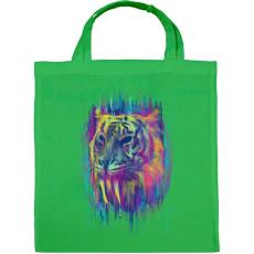PRINTFASHION Tigris - Vászontáska - Zöld