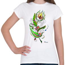 PRINTFASHION Tollpihe - Női póló - Fehér