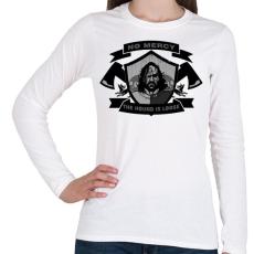 PRINTFASHION Trónok harca  - Női hosszú ujjú póló - Fehér