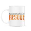 PRINTFASHION US&Rescue - Bögre - Fehér