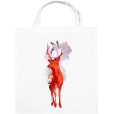 PRINTFASHION Useless deer - Vászontáska - Fehér