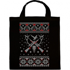 PRINTFASHION Vadász karácsony - Vászontáska - Fekete