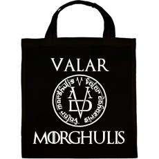 PRINTFASHION Valar Morghulis - Vászontáska - Fekete