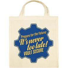 PRINTFASHION Vault Secure - Vászontáska - Natúr