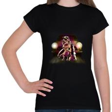 PRINTFASHION Védelem - Női póló - Fekete