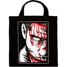 PRINTFASHION Véres zombi - Vászontáska - Fekete