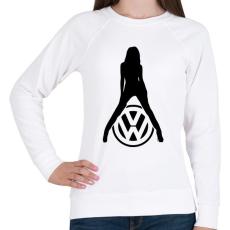 PRINTFASHION Volkswagen fan - Női pulóver - Fehér