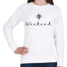 PRINTFASHION WEEKEND - Női pulóver - Fehér