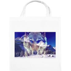 PRINTFASHION wolf - Vászontáska - Fehér