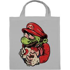 PRINTFASHION Zombi Mario - Vászontáska - Szürke