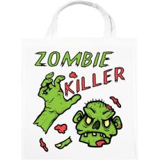 PRINTFASHION Zombie Killer - Vászontáska - Fehér
