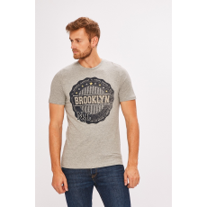 PRODUKT by Jack & Jones - T-shirt - szürke - 1320950-szürke