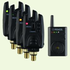 PROWESS INSEDIA 4+1 elektromos kapásjelző készlet kapásjelző