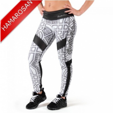 PUEBLO TIGHTS - BLACK/WHITE (BLACK/WHITE) [XS]