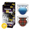 Pufies Trusted Trends 5 Junior pelenka, Value Pack, Plaid Baby, 88 darab (3800024029806)