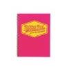 Pukka pad Spirálfüzet, A4, vonalas, 100 lap, PUKKA PAD Neon, rózsaszín