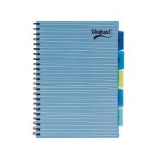 """Pukka pad Spirálfüzet, A4, vonalas, 100 lap, PUKKA PAD """"Unipad project book"""", vegyes szín füzet"""