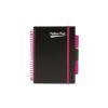 """Pukka pad Spirálfüzet, A5, vonalas, 100 lap, PUKKA PAD, """"Neon project book"""""""