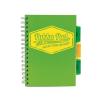 """Pukka pad Spirálfüzet, A5, vonalas, 100 lap, PUKKA PAD """"Project book Neon"""", zöld"""