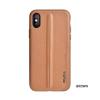 Puloka Style prémium hátlaptok Samsung G975 Galaxy S10+, barna