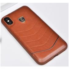 Puloka Waves prémium hátlaptok Apple iPhone X, barna tok és táska