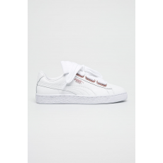 Puma - Cipő Basket Heart Leather - fehér - 1366939-fehér