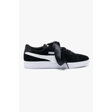 Puma - Cipő Smash v2 Ribbon Jr - fekete - 1227085-fekete