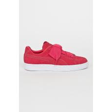 Puma Gyerek cipő Suede Heart Valentine - erős rózsaszín