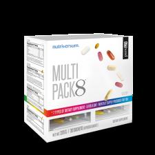 PurePro - Multi Pack 8 - 30 pak vitamin és táplálékkiegészítő