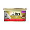 Purina Gourmet Gold  Marhával és csirkével 85g duó élmény
