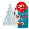 Purina One 24x85g Purina One Adult nedves macskatáp-Senior