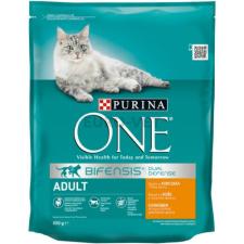 Purina ONE Adult Csirke+teljes kiőrlésű gabonák 800 g macskaeledel