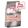 Purizon Single Meat Adult kacsa & alma - gabonamentes - 4 kg