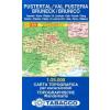 Pustertal / Val Pusteria - Bruneck / Brunico térkép - 033 Tabacco