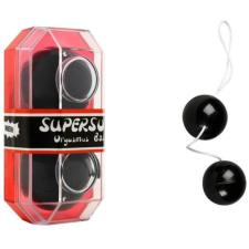 PVC Duotone Balls Black - Gésagolyó fekete anál