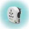 "q2power 1.100170 utazó adapter ""World to Australia USB"""