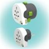 "q2power 2.100130 utazóadapter ""Qdapter 360 USB"""