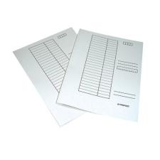 Q-CONNECT Gyorsfűző A/4 karton fehér naptár, kalendárium
