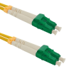Qoltec Optic Patchcord LC/APC-LC/APC SM 9/125 G652D 2m optikai kábel