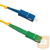Qoltec Optic Patchcord SC/APC-SC/UPC ; Singlemode ; 9/125 ; G652D ; Simplex ;20m