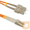 Qoltec Optic Patchcord SC/UPC - LC/UPC | Multimode | 50/125 | OM2 | Duplex | 3m