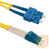 Qoltec Optic Patchcord SC/UPC-LC/UPC ; Singlemode ; 9/125 ; G652D ; Duplex ; 1m